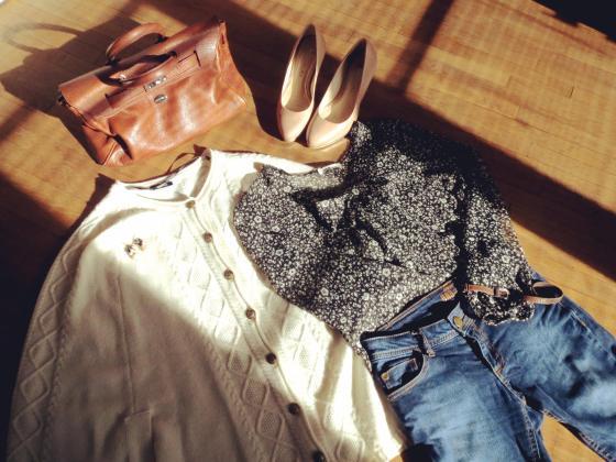 Tenue chic minimaliste